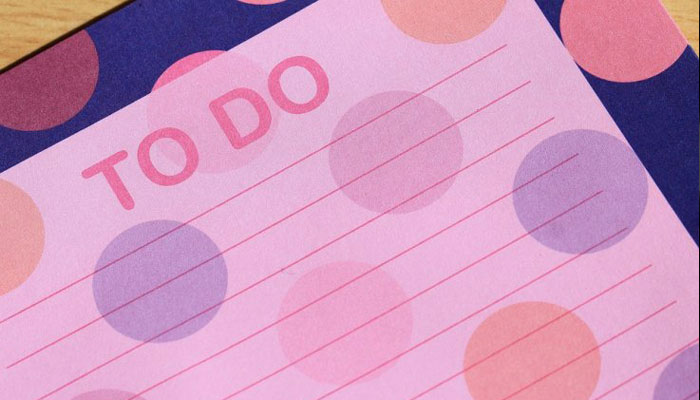 Writing a to-do list will help you sleep faster at night