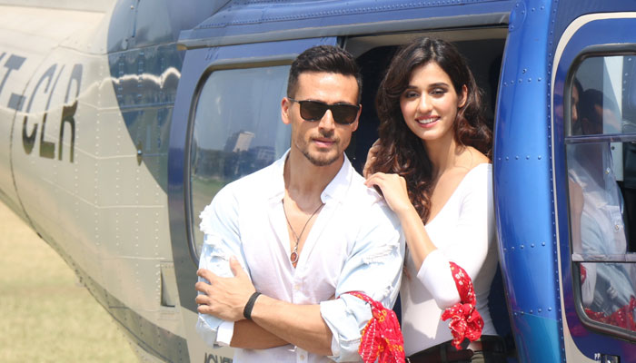 Disha Patani, Tiger Shroff show off their Baaghi attitude