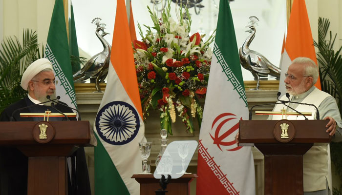 Modi, Rouhani discuss bilateral cooperation, regional issues