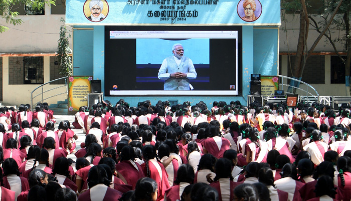 Tamil is the oldest and a beautiful language, says PM Modi