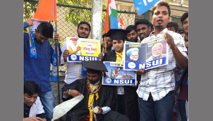 Bengaluru youth detained for pakoda protest against Modi