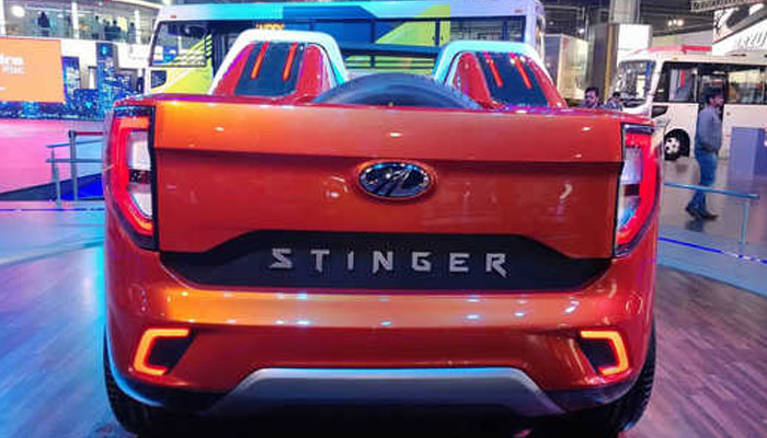 Auto Expo 2018: Mahindra unveils first convertible SUV TUV Stinger