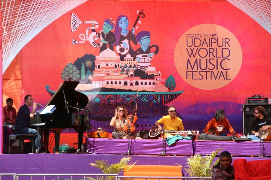 Udaipur World Music Festival to commence from February 9