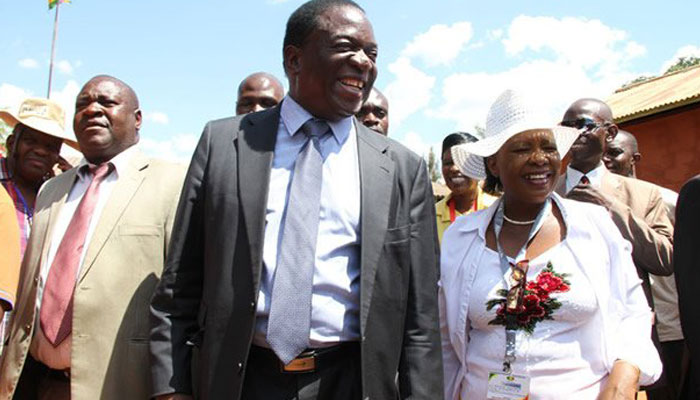 Zimbabwe first lady relinquishes parliamentary seat