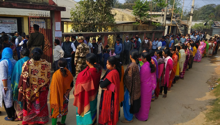 Over 90% voting recorded in re-poll at six Tripura centres