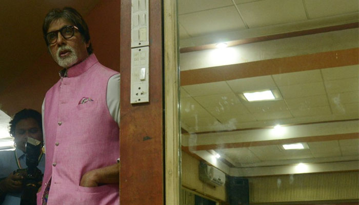 Big B tries his vocals on Badumba song of 102 Not Out film