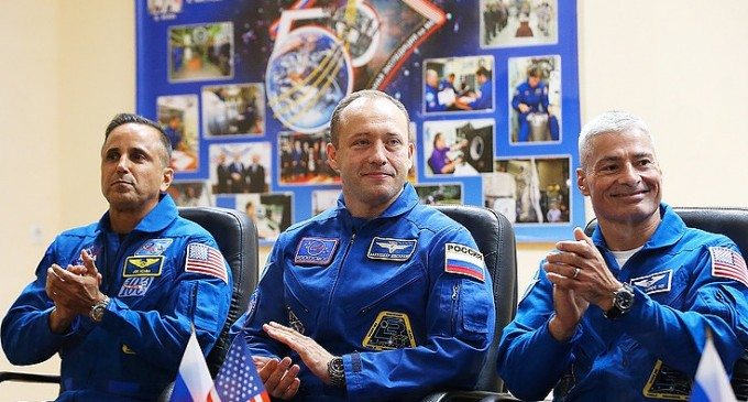 Three astronauts back on Earth after months in space