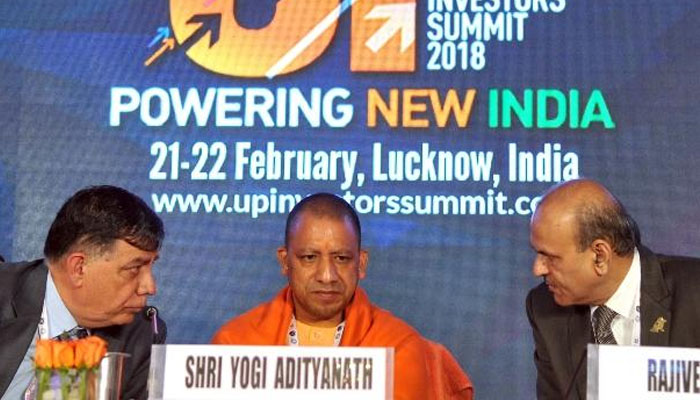 UP Investors Summit 2018: Mobile app e-saathi launched