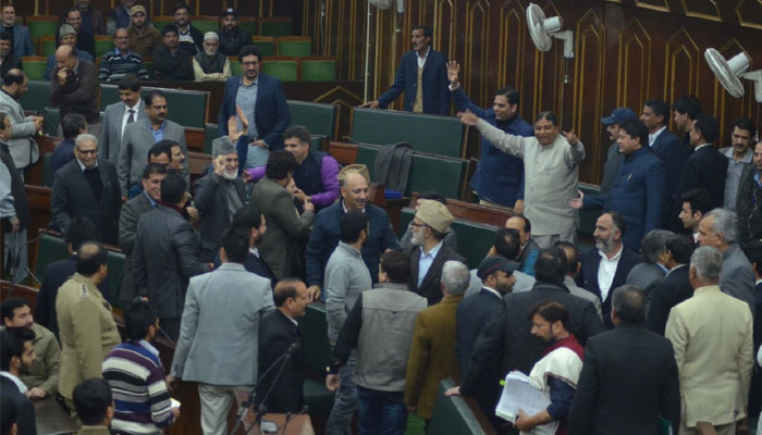 J&K assembly disrupted over terror attack on Indian Army camp