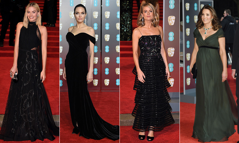 BAFTA 2018: Stars wear black to bring Times Up to Britain