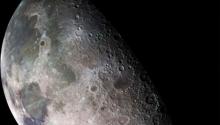 Moons water may be widely distributed