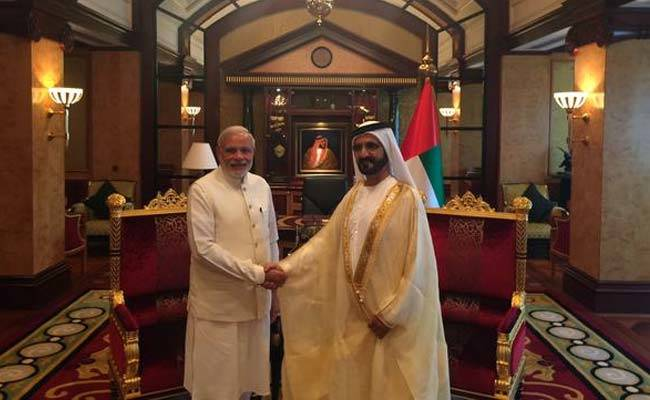 PM Modi discusses trade; defence ties with UAE PM