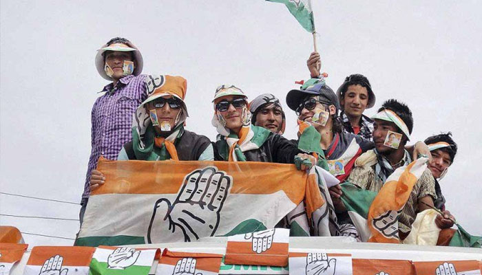 Congress leads in all three seats in Rajasthan bypolls
