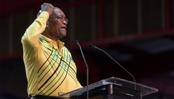 South African President Jacob Zuma resigns with immediate effect