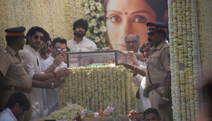 State honours for Sridevis funeral as lakhs gather to bid farewell