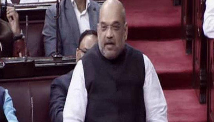 Better to sell pakoda than staying unemployed, Shah in maiden RS speech