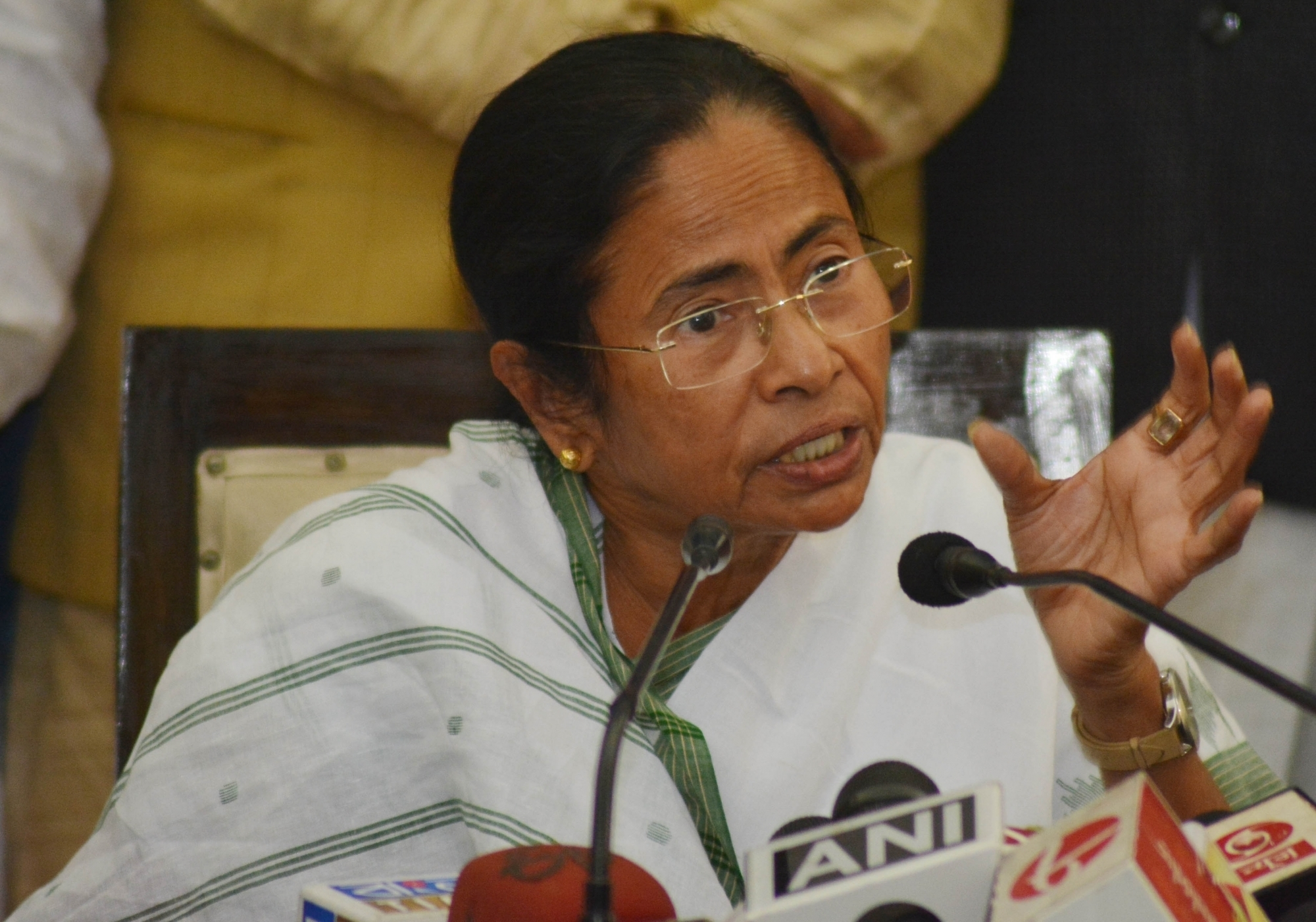 BJP-RSS trying to start a riot in Bengal: Mamata