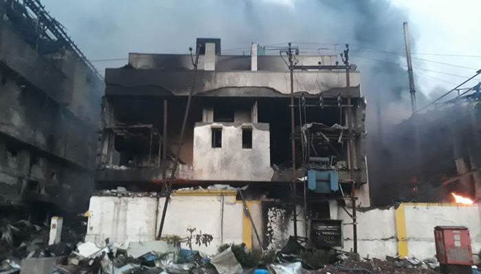 Palghar: Blast and fire in Maharashtra chemical plant
