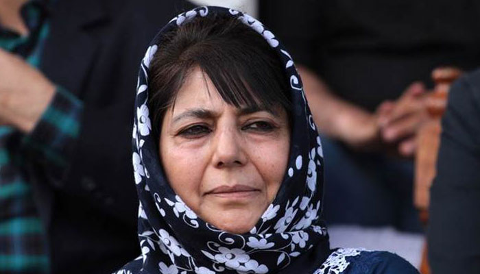 Mehbooba claims she was prevented from visiting area in Pulwama