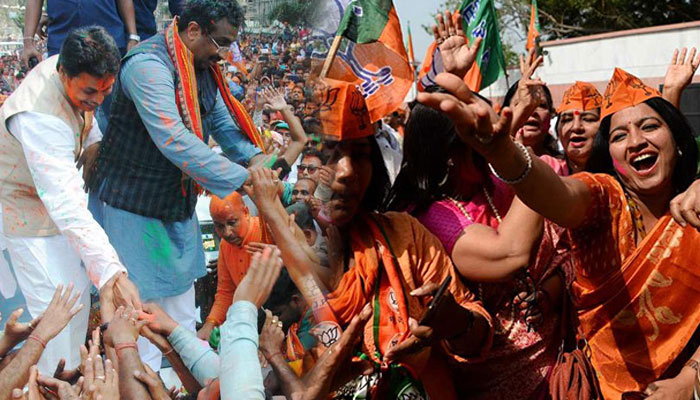 Check out the final party position in Tripura, Meghalaya, Nagaland