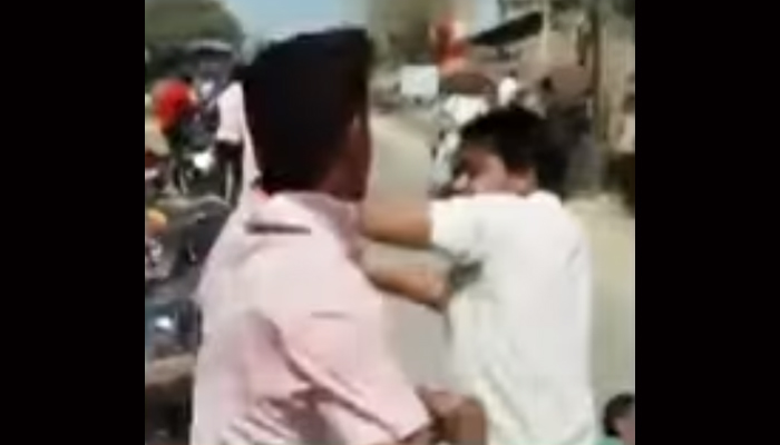 Drunk constables beat shopkeeper in UP; dismissed