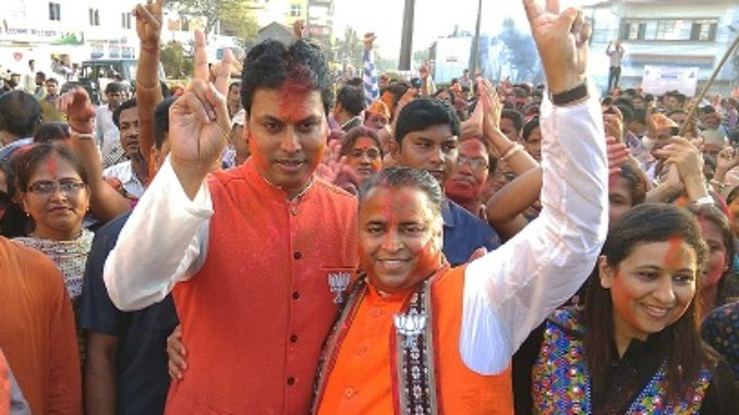 BJP wins Tripura; Biplab Deb likely to be the next Chief Minister