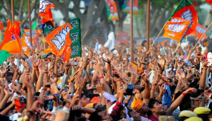 Left Sarkar out as BJP set to form government in Tripura