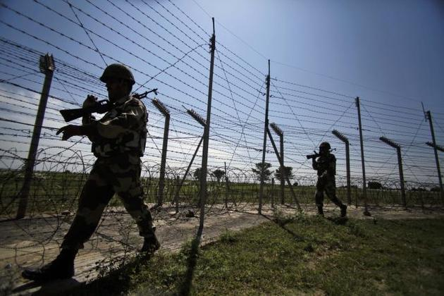 351 ceasefire violations by Pakistan since January 1