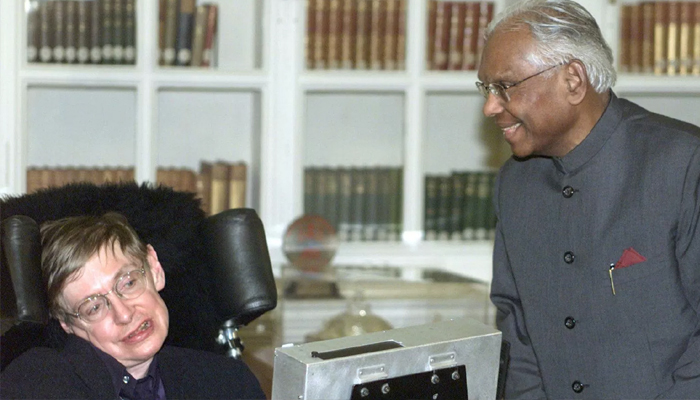 When Stephen Hawking heaped praise on Indians