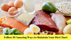 Follow 10 Amazing Ways to Maintain Your Diet Chart