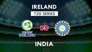 IRE vs IND 2nd T20I: Ireland wins toss; India to bat