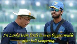Sri Lanka captain, Coach, Manager admit to serious ICC Code violation