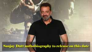 Sanjay Dutt to launch autobiography on this date