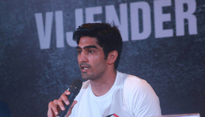 COVID-19: Vijender hopes for pro career to resume in second half of 2020