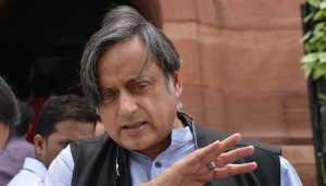 MPs not frequenting their constituencies have rough time: Tharoor