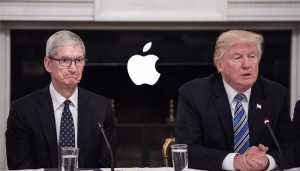 Trump wants Apple to start manufacturing in US