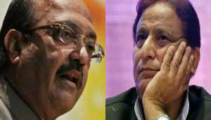 Amar Singh files police complaint against Azam Khan