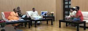 Sigh of relief for Apple executive's widow after meeting UP CM