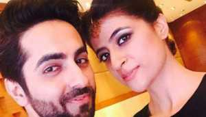 Here is something special done by Ayushmann on Karva Chauth for wifey