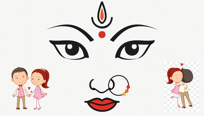 Are durga pandals convertinginto hubs for love-birds?