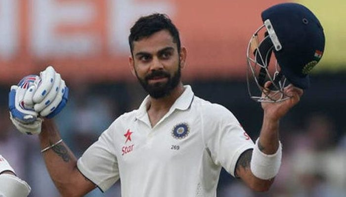 Virat Kohli completes ton as India amass 506/5 at lunch on Day 2