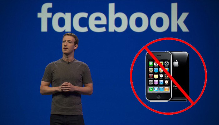 Did Fb discourages its employees to use iphones after Tim's comment?