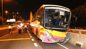 Hong-Kong: Five people killed, over 30 injured in an accident