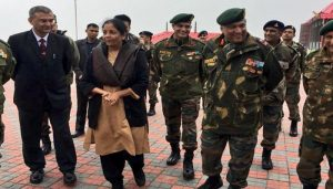 Sitharaman Continues the tradition of celebrating Diwali with soldiers