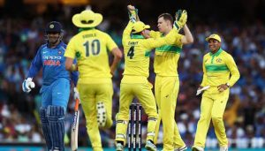 #INDvsAUS: 'Hitman's' century goes waste as Aussies win by 34 runs