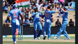 Bay Oval | India defeated New Zealand by 7 wickets, won series by 3-0