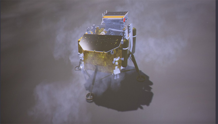 Chinas Change 4 rover Jade Rabbit 2 sets off on moon mission