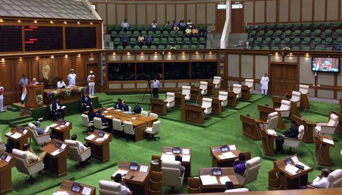 Congress stages walkout from Goa Assembly; demands Parrikars sacking