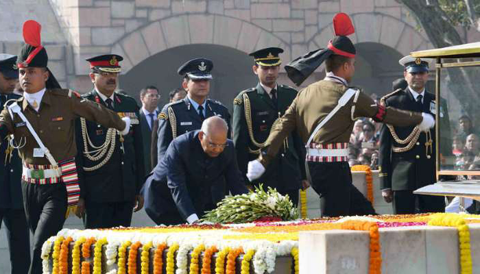 Martyrs Day: PM Modi, Prez Kovind pay homage to Father of the Nation