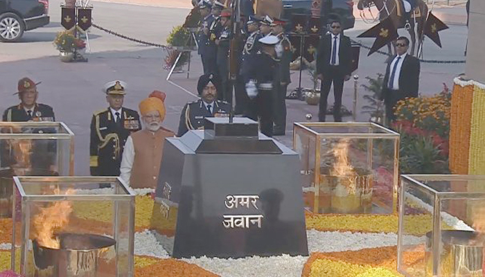 Women power marked the 70th Republic Day celebrations; Parade ends